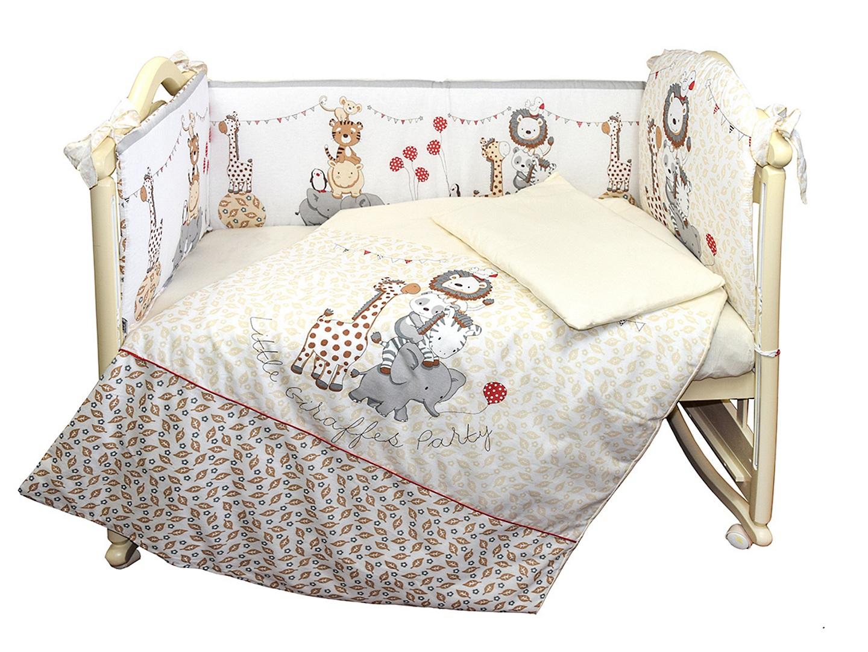 Комплект в кроватку Вечеринка маленького жирафика (4) фото FullHD (0)