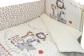 Комплект в кроватку Вечеринка маленького жирафа (6) фото мни (3)