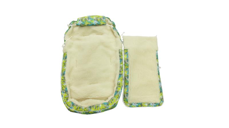 Конверт/одеяло на выписку Снежинки фото (1)