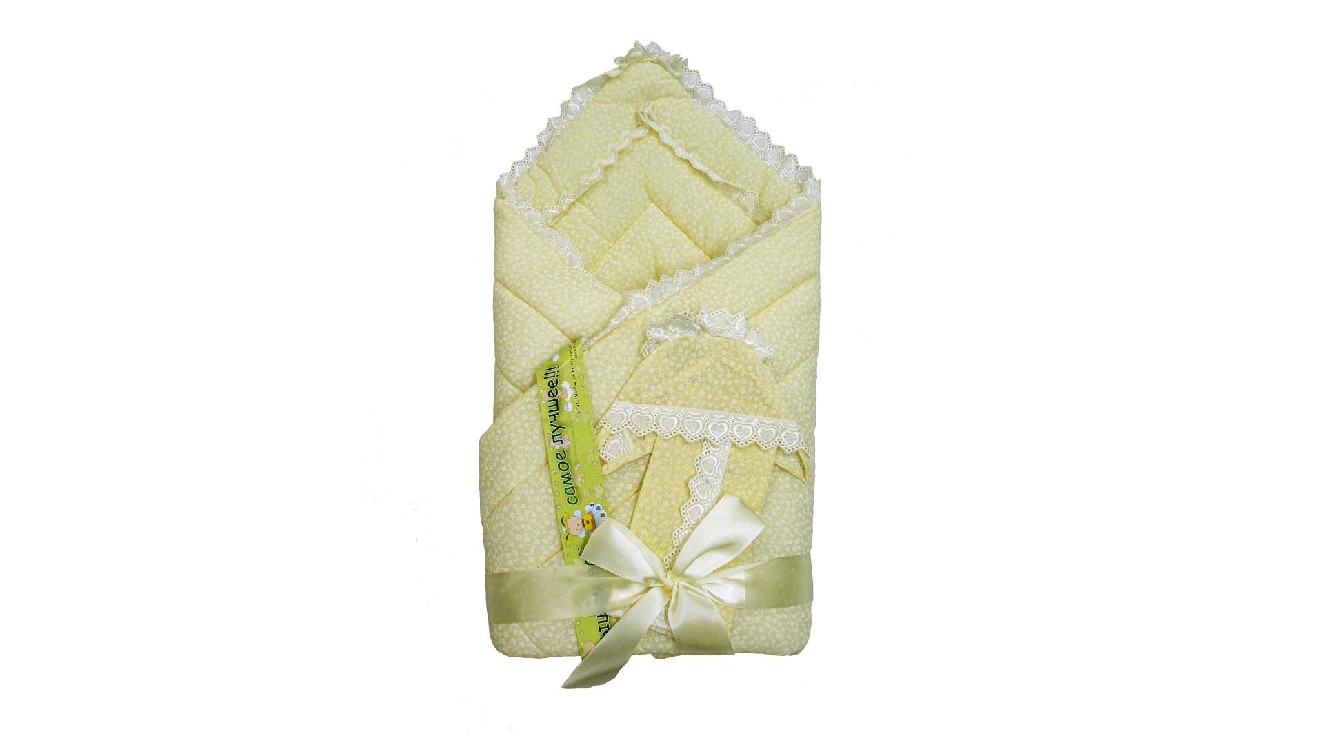 Конверт/одеяло на выписку Фунтик (бежевый) фото FullHD (0)