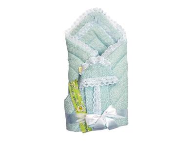 Конверт/одеяло на выписку Фунтик (голубой) фото