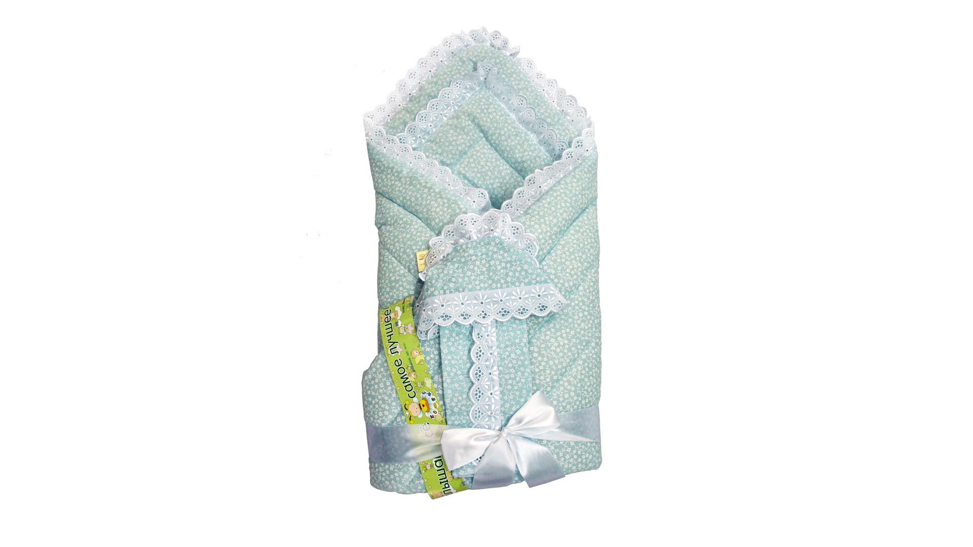 Конверт/одеяло на выписку Фунтик (голубой) фото FullHD (0)
