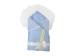 Конверт/одеяло на выписку Мила (лето, голубой) фото мни (0)