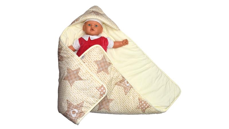 Конверт/одеяло на выписку Звёздочка фото (1)