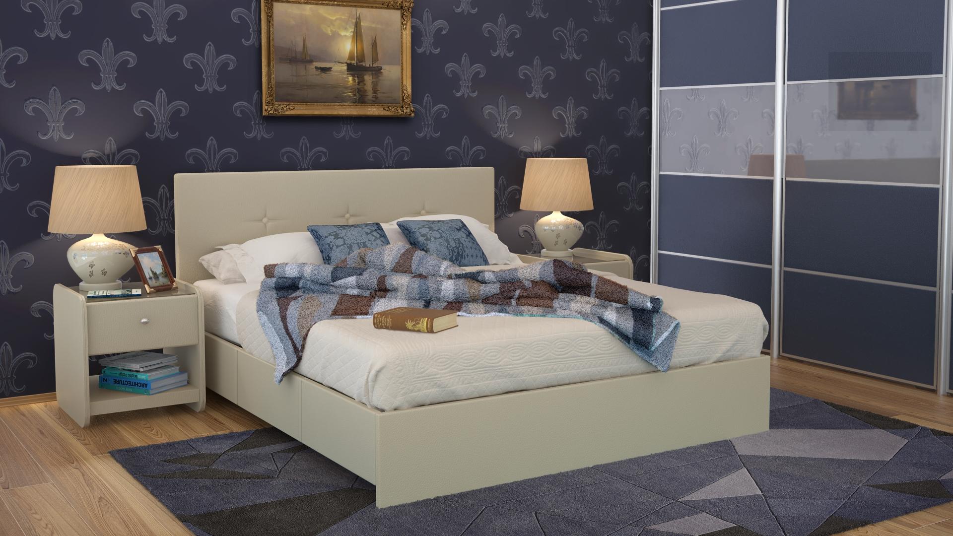 Кровать ISABELLA фото FullHD (0)