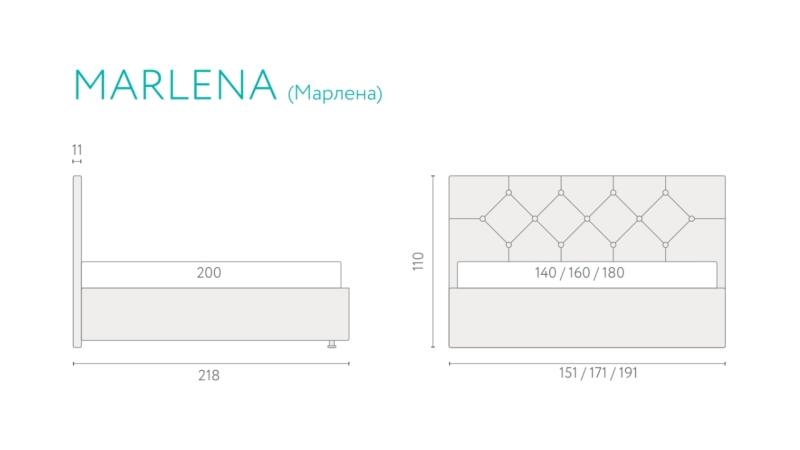 Кровать Marlena фото (9)