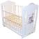 Кроватка для новорожденного Amis (маятник, ящик; цв. белый) фото мни (0)