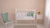 Кроватка для новорожденного Анюта (цв. белый) фото мни (1)