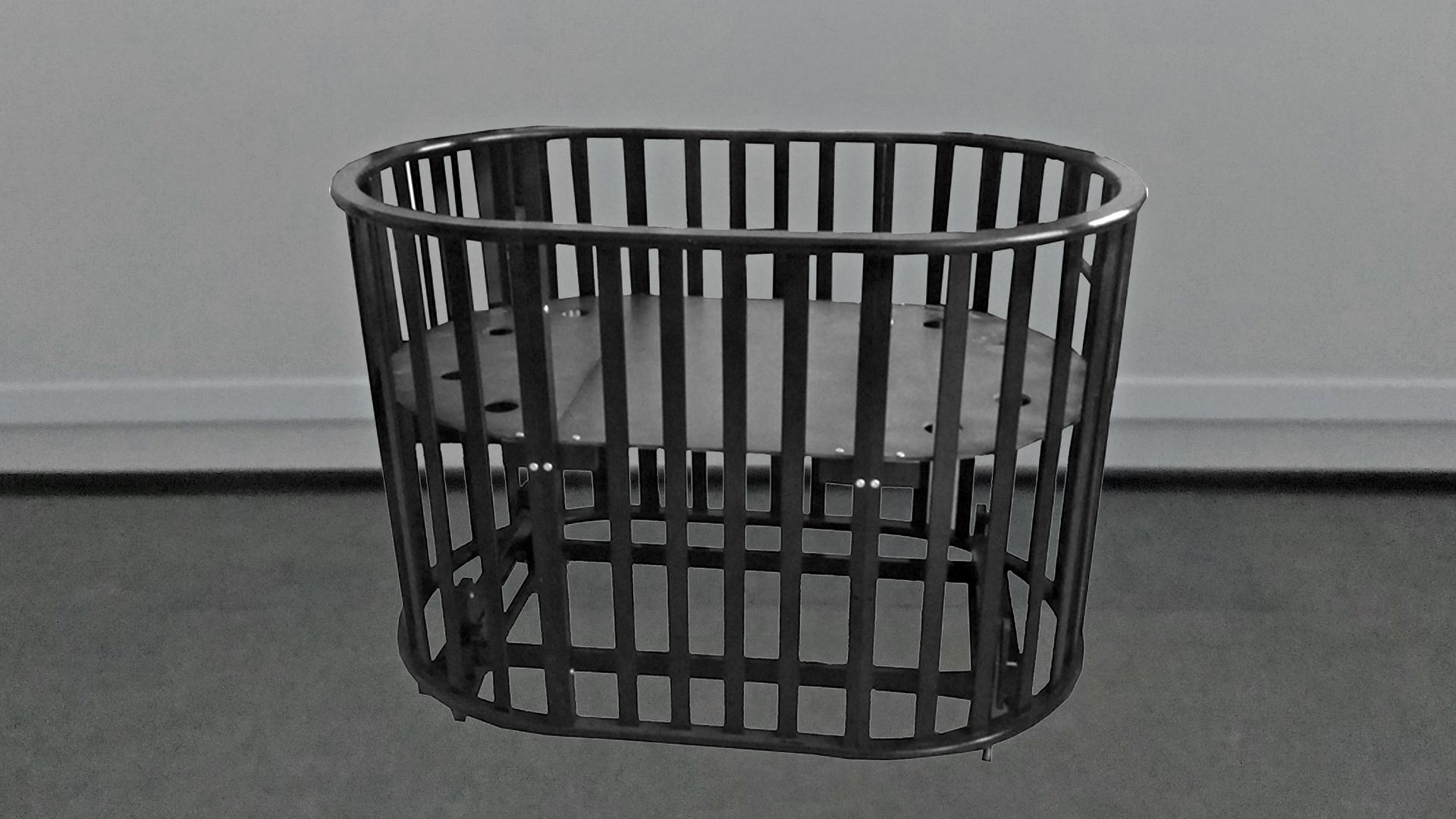Кроватка для новорожденного Габи 9 в 1 (маятник; цв. шоколад) фото FullHD (0)
