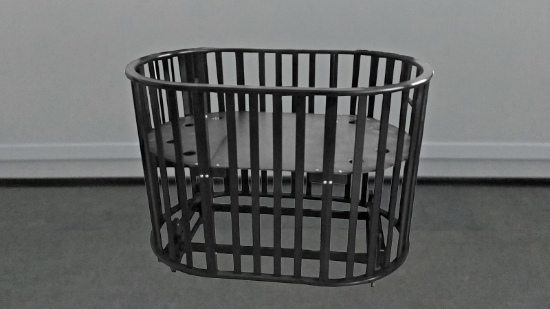 Кроватка для новорожденного Габи 9 в 1 (маятник; цв. шоколад) фото (0)