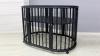 Кроватка для новорожденного Грация 8 в 1 (цв. чёрный) фото мни (0)