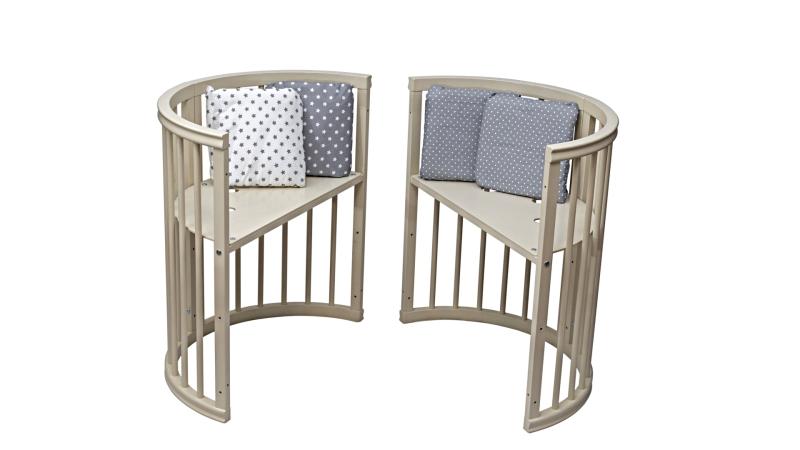 Кроватка для новорожденного Грация 8 в 1 (маятник; цв. слон.кость) фото (5)