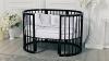 Кроватка для новорожденного Грация 8 в 1 (цв. венге) фото мни (1)