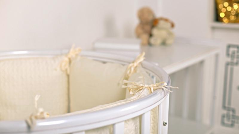 Кроватка для новорожденного Мия 7 в 1 (цв. белый) фото (3)