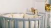 Кроватка для новорожденного Мия 7 в 1 (цв. серый элит) фото мни (2)