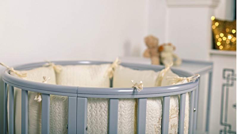 Кроватка для новорожденного Мия 7 в 1 (цв. серый элит) фото (2)