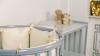 Кроватка для новорожденного Мия 7 в 1 (цв. серый элит) фото мни (3)