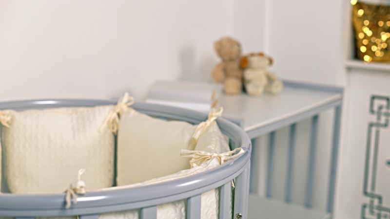 Кроватка для новорожденного Мия 7 в 1 (цв. серый элит) фото (3)