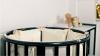 Кроватка для новорожденного Мия 7 в 1 (цв. венге) фото мни (2)