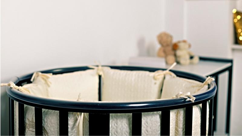 Кроватка для новорожденного Мия 7 в 1 (цв. венге) фото (2)