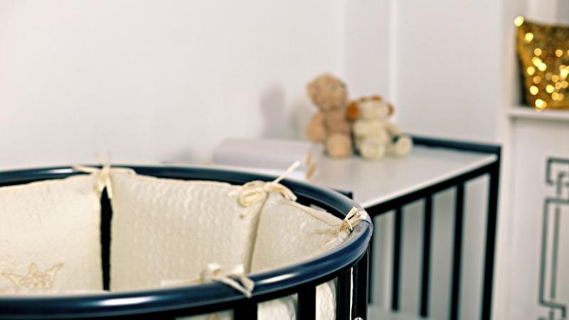 Кроватка для новорожденного Мия 7 в 1 (цв. венге) фото (3)
