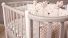 Кроватка для новорожденного Персона (цв. серый/белый) фото мни (1)