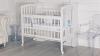 Кроватка для новорожденного Принц (цв. белый) фото мни (1)