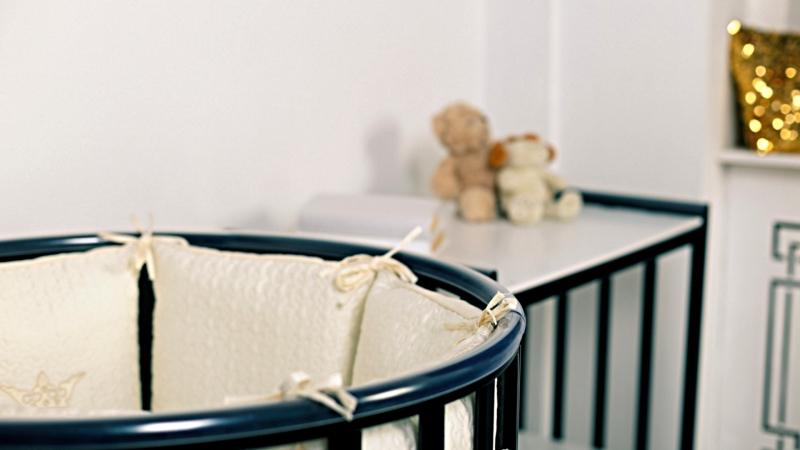 Кроватка для новорожденного Соня 8 в 1 (маятник; цв. венге) фото (1)