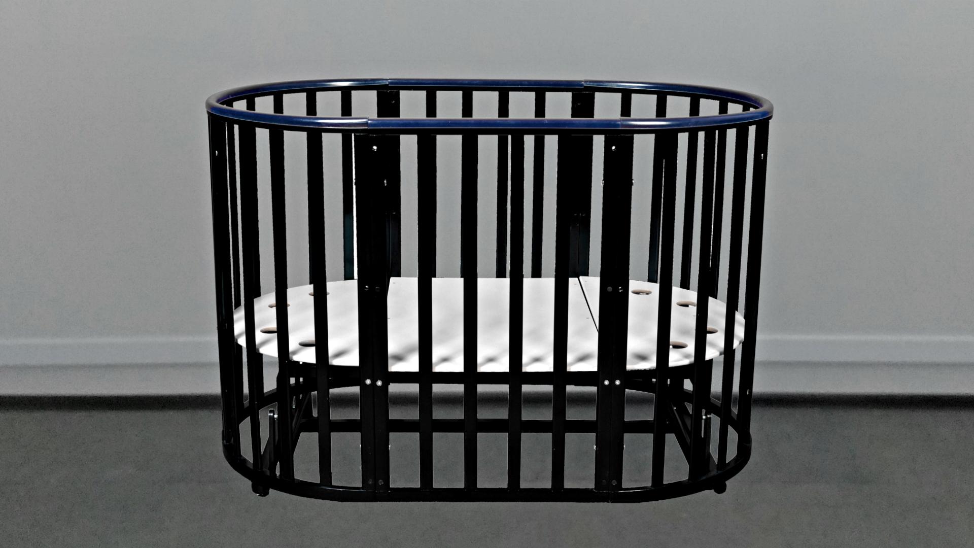Кроватка для новорожденного Соня 8 в 1 (маятник; цв. венге) фото FullHD (0)