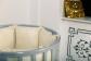 Кроватка для новорожденного Соня 8 в 1 (цв. серый элит) фото мни (1)