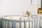 Кроватка для новорожденного Соня 8 в 1 (цв. серый элит) фото мни (2)