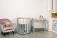 Кроватка для новорожденного Соня 8 в 1 (цв. серый элит) фото мни (3)