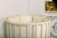 Кроватка для новорожденного Соня 8 в 1 (цв. слон.кость) фото мни (2)