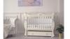 Кроватка для новорожденного Валерия (маятник, ящик; цв. слон.кость) фото мни (0)