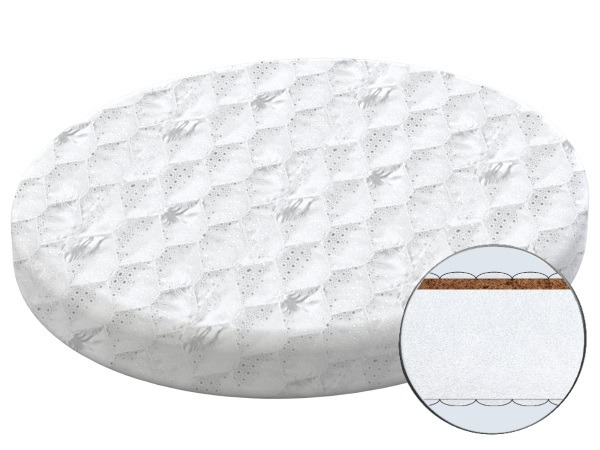 Матрасик для новорожденного Матрас Лемурчик-1 (круг) фото (0)