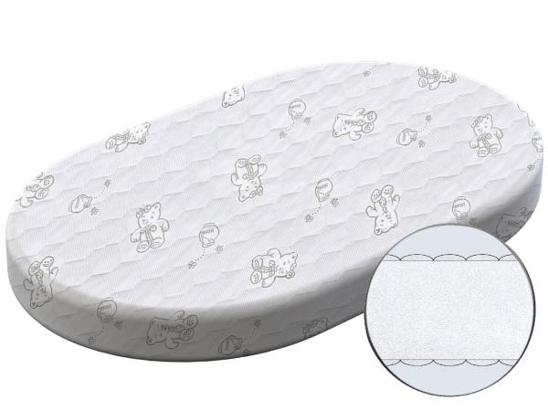Матрасик для новорожденного Матрас Ленивец-3 (овал) фото (0)