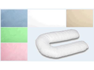 Наволочка на подушку для беременных Поплиновая формы U340 фото