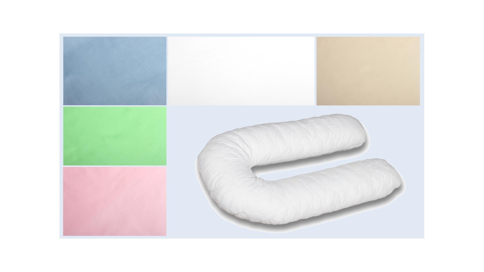 Наволочка на подушку для беременных Поплиновая формы U340 фото FullHD (0)