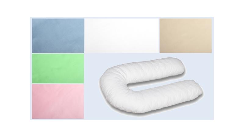 Наволочка на подушку для беременных Поплиновая формы U340 фото (0)