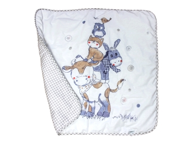 В кроватку новорожденного Одеяло Милка (всесезонное) фото