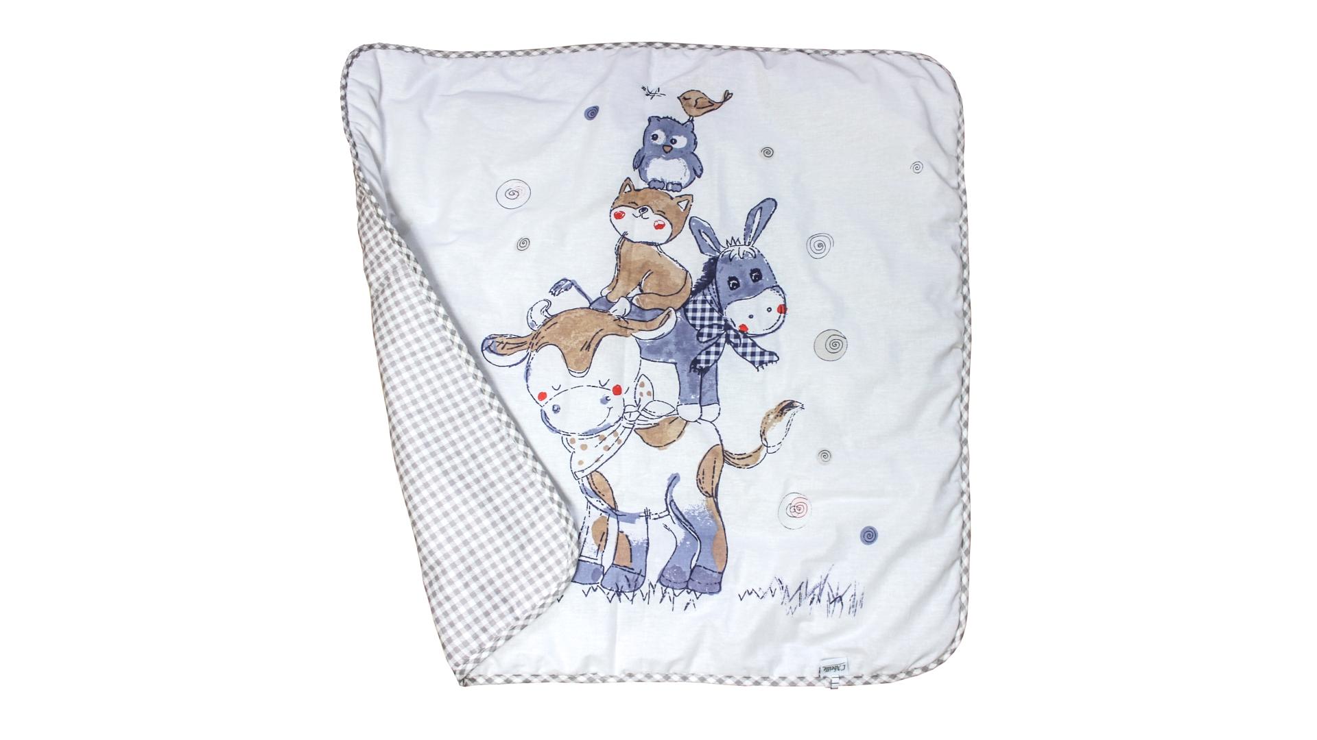 В кроватку новорожденного Одеяло Милка (всесезонное) фото FullHD (0)