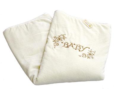 В кроватку новорожденного Плед Изабэль (бежевый) фото