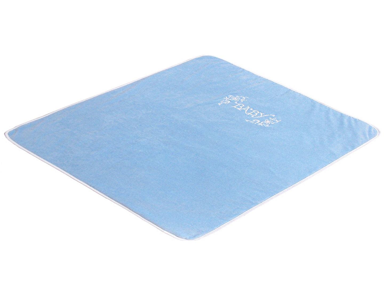 В кроватку новорожденного Плед Изабэль (голубой) фото FullHD (0)