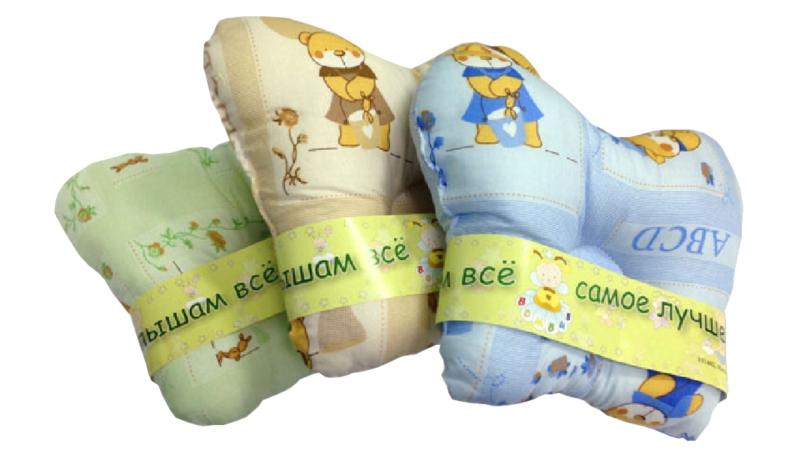 В кроватку новорожденного Подушка анатомическая фото (1)