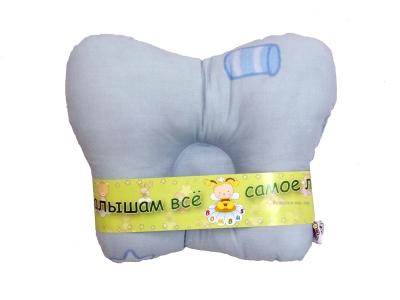 В кроватку новорожденного Подушка анатомическая фото
