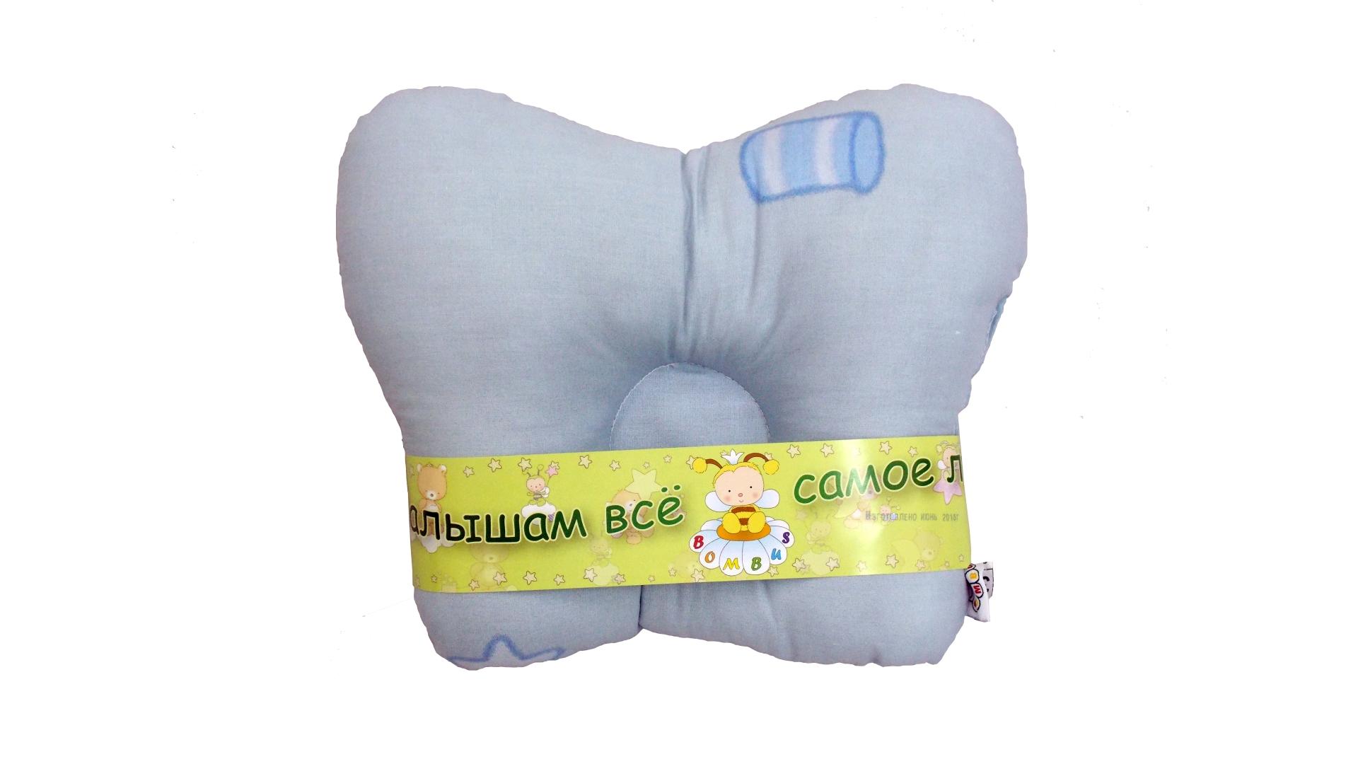 В кроватку новорожденного Подушка анатомическая фото FullHD (0)