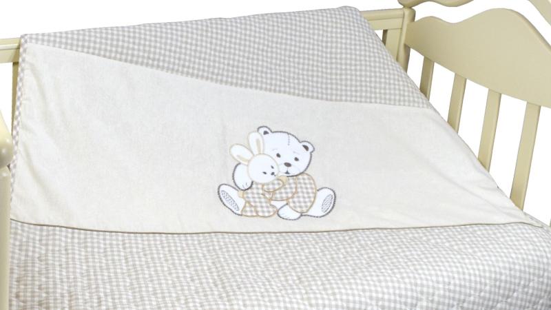 В кроватку новорожденного Покрывало-пододеяльник Нежный фото (1)