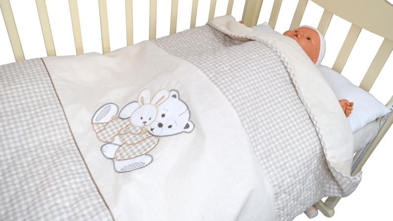 В кроватку новорожденного Покрывало-пододеяльник Нежный фото (3)