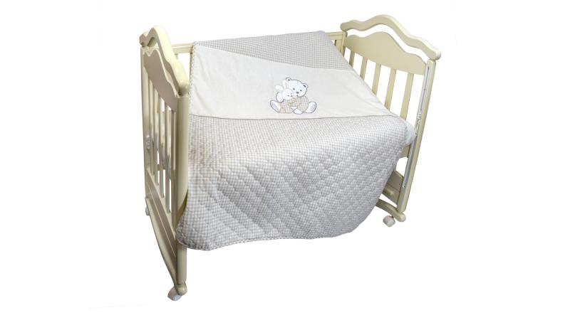 В кроватку новорожденного Покрывало-пододеяльник Нежный фото (0)