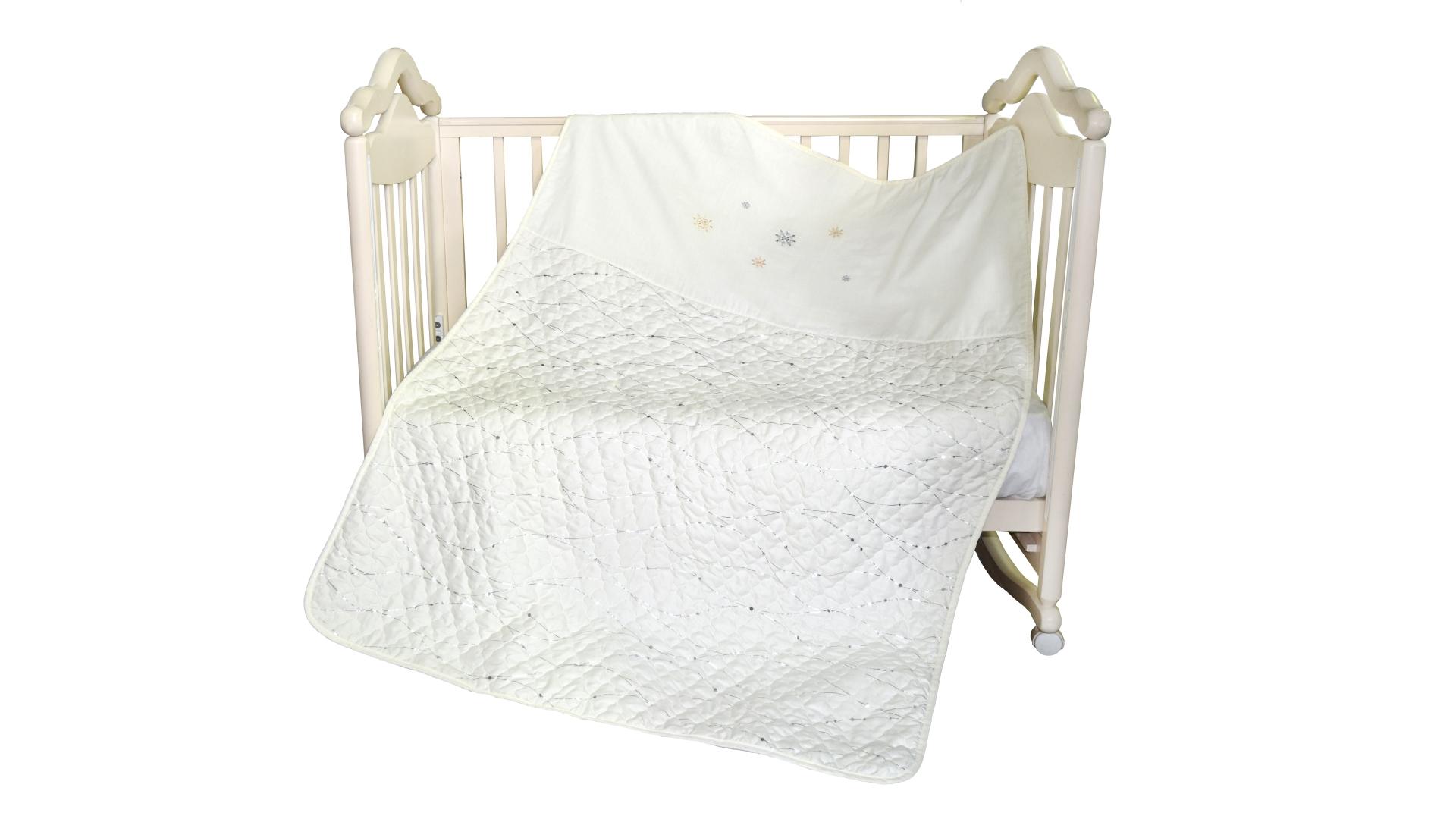 В кроватку новорожденного Покрывало-пододеяльник Ника фото FullHD (0)